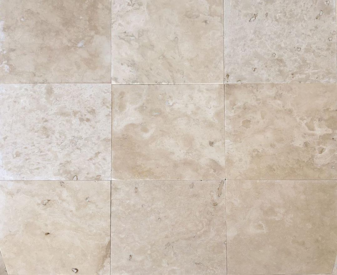Light Classic Filled Amp Honed Travertine Floor Tiles