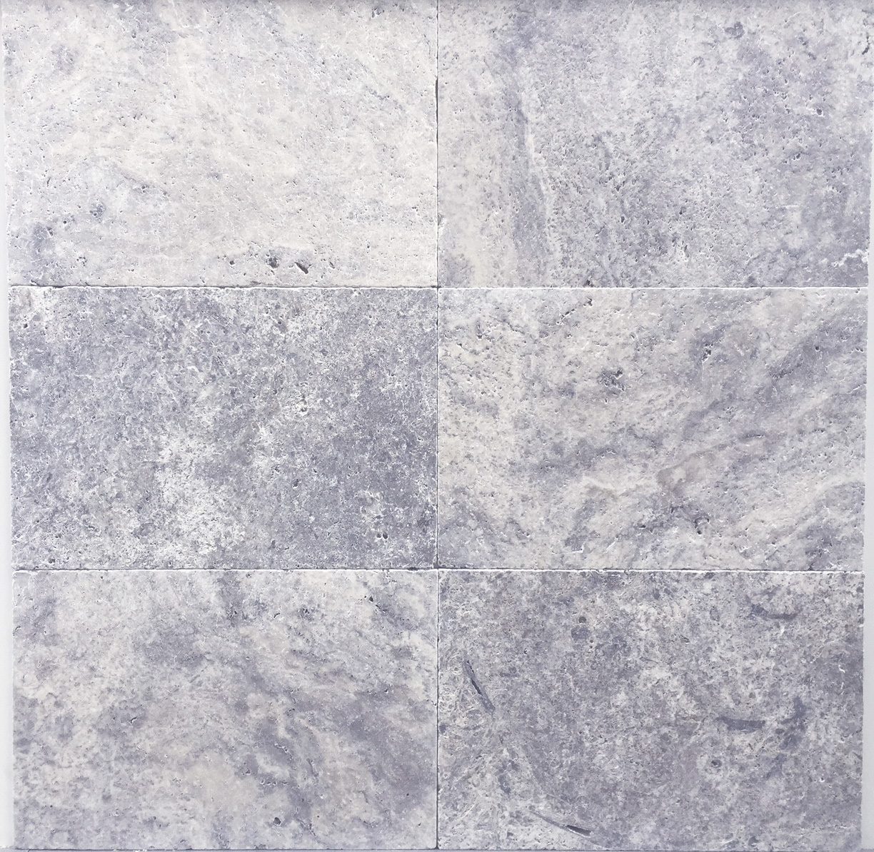Silver Travertine French Pattern Available In Both Tiles Pavers