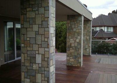 Random Stone Wall Brazil Geometric